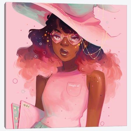 Magic AF Canvas Print #GEB27} by Geneva B Canvas Art