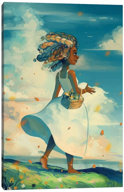 Aer Canvas Art Print