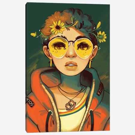 Moue Canvas Print #GEB31} by Geneva B Canvas Artwork