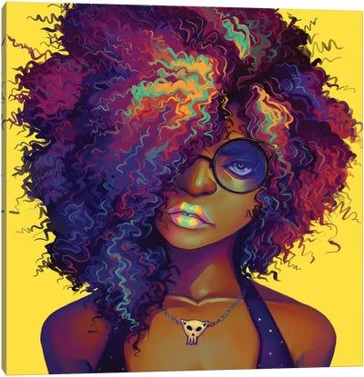 Neon Canvas Art Print