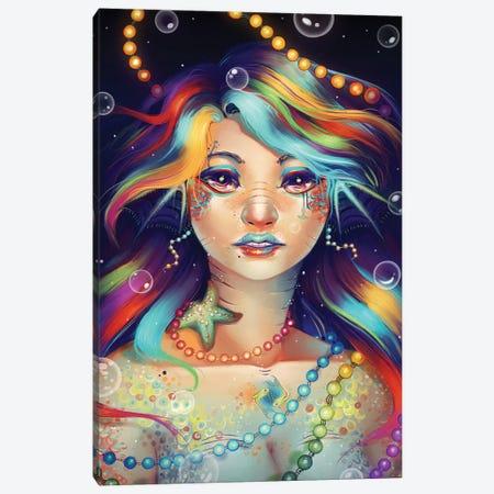Rainbow Fish I Canvas Print #GEB38} by Geneva B Canvas Art