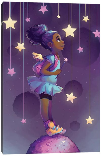 Reach For The Stars Canvas Art Print