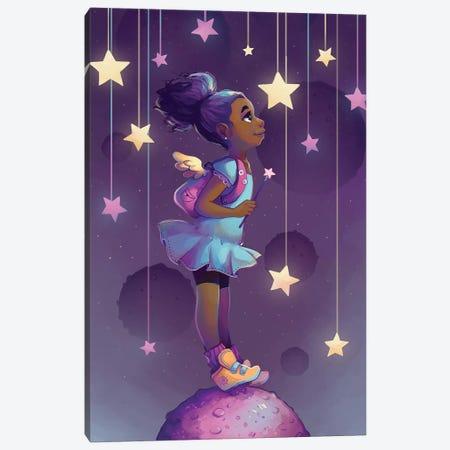 Reach For The Stars Canvas Print #GEB40} by Geneva B Canvas Print