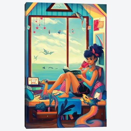 Relax Canvas Print #GEB41} by Geneva B Canvas Print