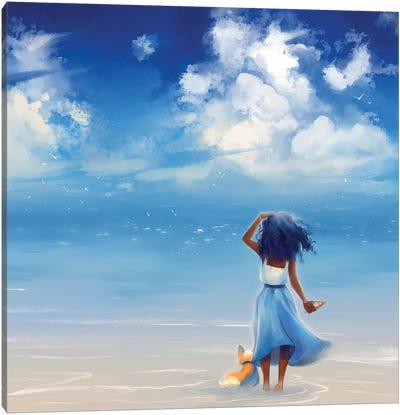 Strand Canvas Art Print