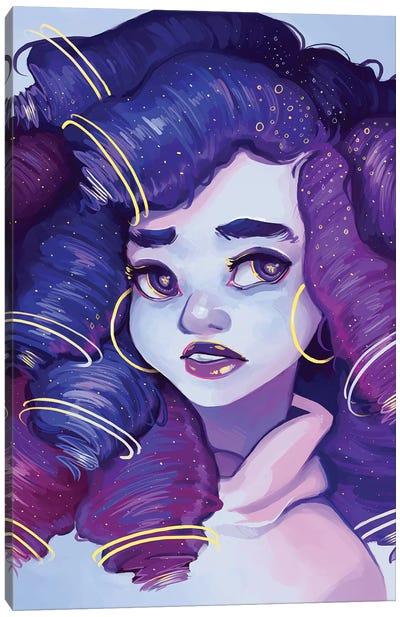 Astrology Day Canvas Art Print