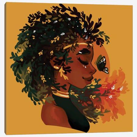 Thyme And Thyme Again Canvas Print #GEB54} by Geneva B Art Print