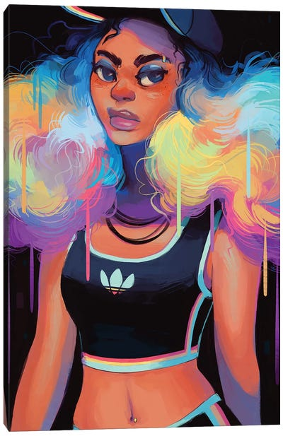 Workout Wear Canvas Art Print