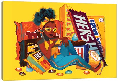 Chocolat  Canvas Art Print