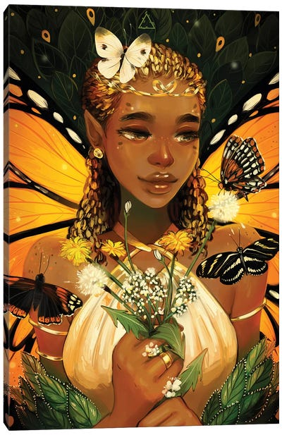 Monarch Canvas Art Print