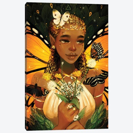 Monarch Canvas Print #GEB61} by Geneva B Art Print