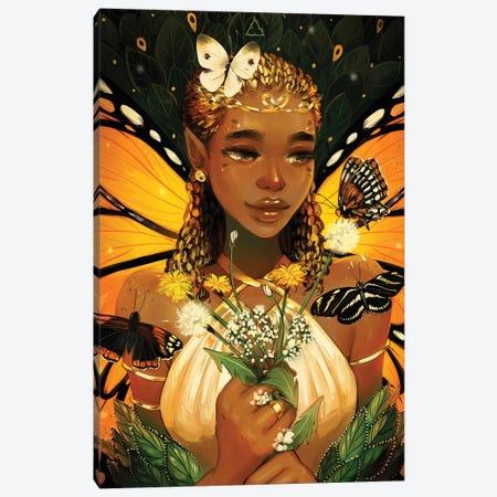 Monarch Canvas Print #GEB61} by Geneva B Art Print