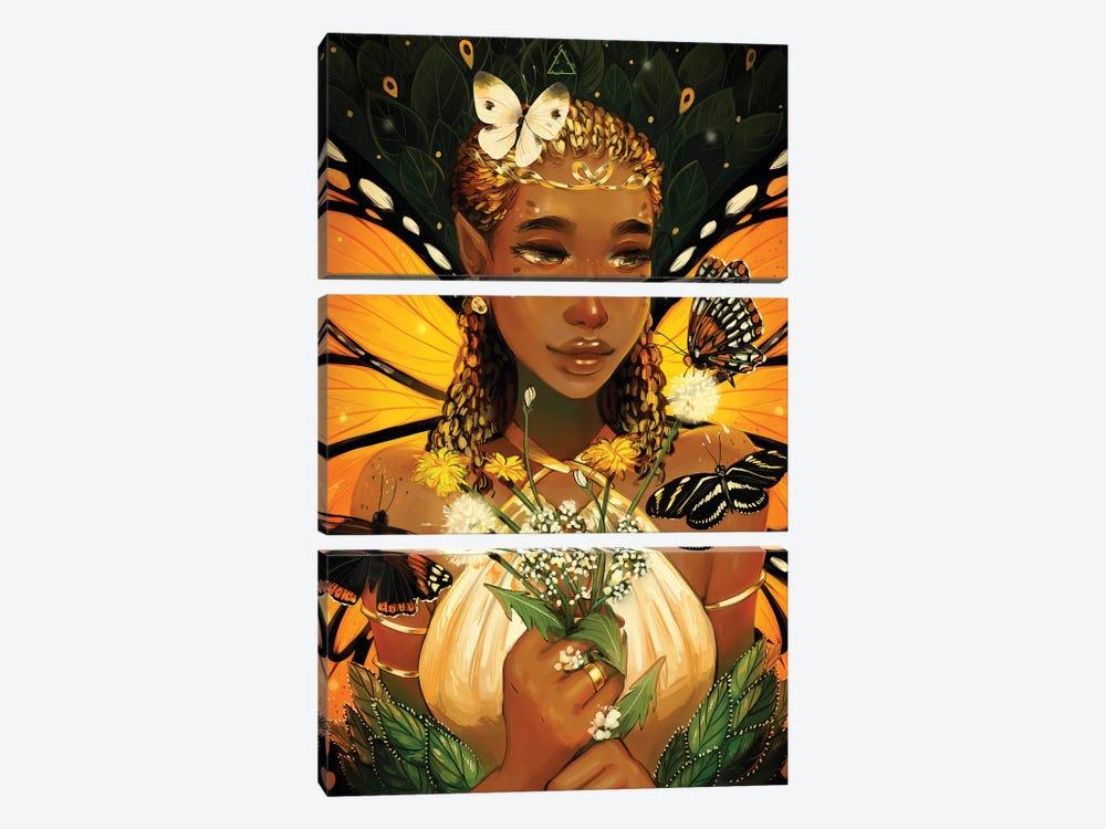 Monarch by Geneva B 3-piece Art Print