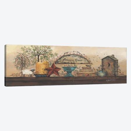 Amazing Grace Shelf Canvas Print #GED1} by Gail Eads Canvas Print