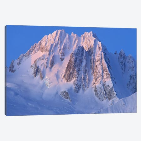 Snow-Covered Peaks Of Takhinsha Mountains, Glacier Bay National Park And Preserve, Alaska Canvas Print #GEE23} by Gerry Ellis Canvas Wall Art