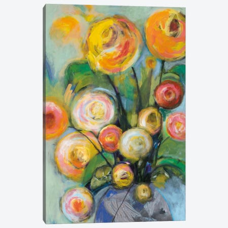Bursts Of Sunshine Canvas Print #GEI1} by Georgia Eider Canvas Art
