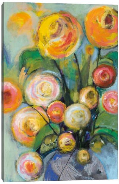 Bursts Of Sunshine Canvas Art Print