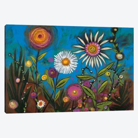 Wild Flower Canvas Print #GEI5} by Georgia Eider Canvas Print