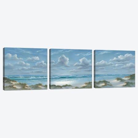 Shoreline Triptych Canvas Print Set #GEJ3HSET001} by Georgia Janisse Canvas Art