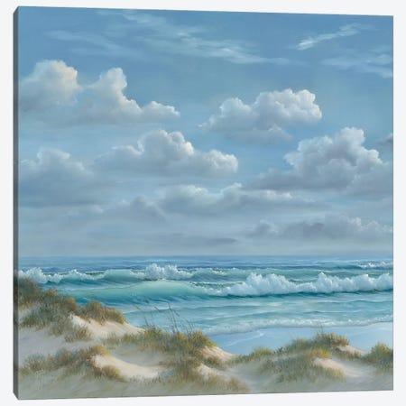 Shoreline I Canvas Print #GEJ4} by Georgia Janisse Canvas Wall Art