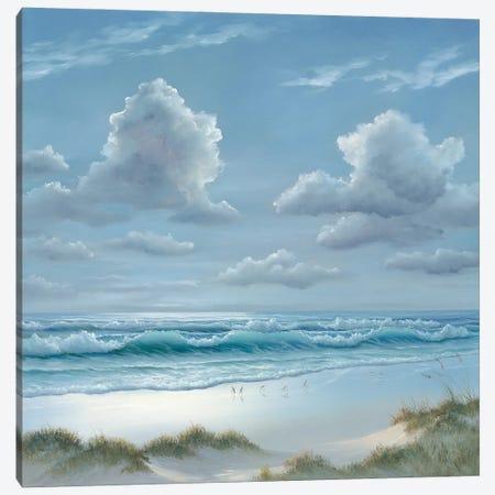 Shoreline II Canvas Print #GEJ5} by Georgia Janisse Canvas Art