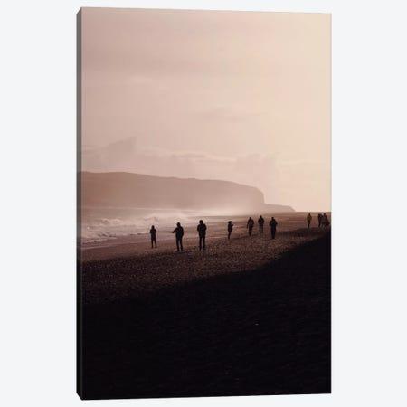 Black Beach Vik Iceland Canvas Print #GEL103} by Monika Strigel Canvas Artwork