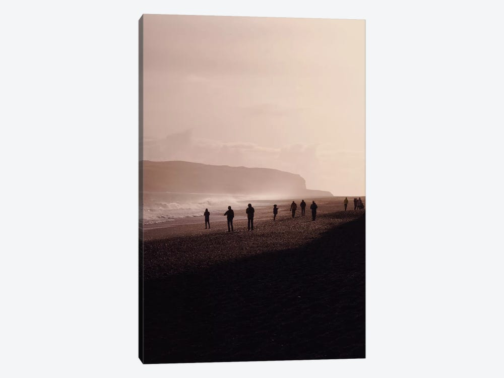 Black Beach Vik Iceland by Monika Strigel 1-piece Art Print