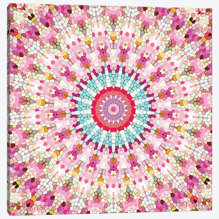 Arabesque - Gypsy In Summer Pink Canvas Print #GEL10} by Monika Strigel Canvas Artwork