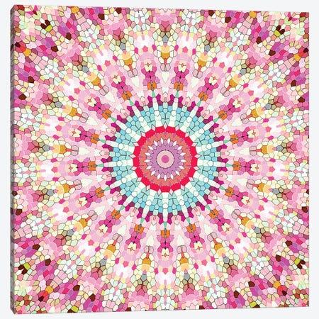 Arabesque - Gypsy In Summer Pink Canvas Print #GEL10} by Monika Strigel Canvas Artwork
