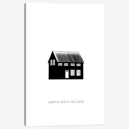 Black House II In Iceland Canvas Print #GEL114} by Monika Strigel Canvas Art