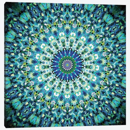 Arabesque - Mystic Ocean Canvas Print #GEL11} by Monika Strigel Canvas Art