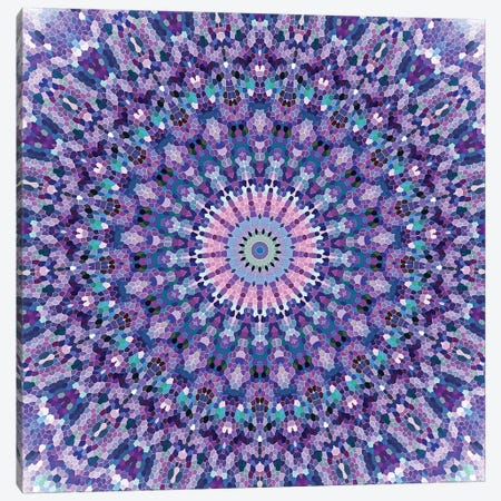Arabesque - Pretty Lavender Canvas Print #GEL12} by Monika Strigel Canvas Artwork