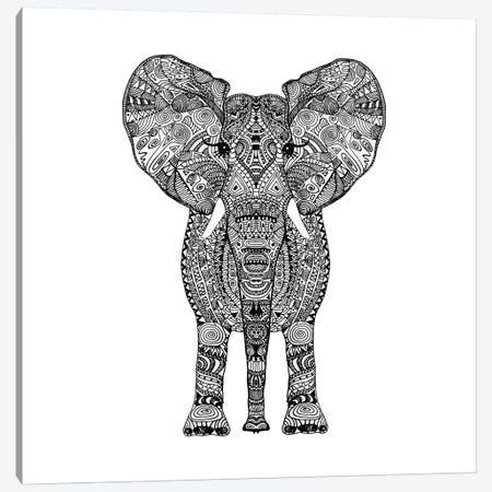 Aztec Elephant Canvas Print #GEL15} by Monika Strigel Art Print