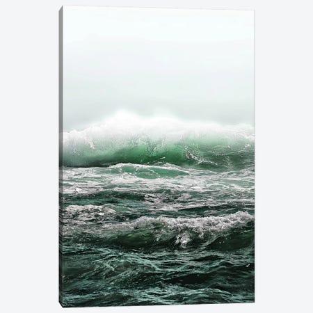 Big Splash Emerald Sea Canvas Print #GEL16} by Monika Strigel Art Print