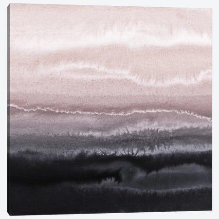 Iceland Black Sand Beach Square Canvas Print #GEL188} by Monika Strigel Canvas Wall Art