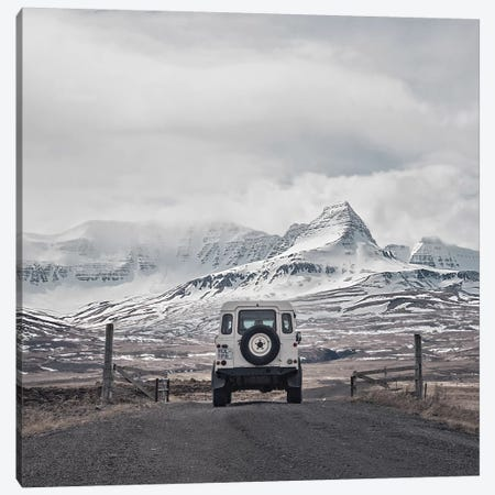 Roam The Planet Iceland I Square Canvas Print #GEL244} by Monika Strigel Canvas Art