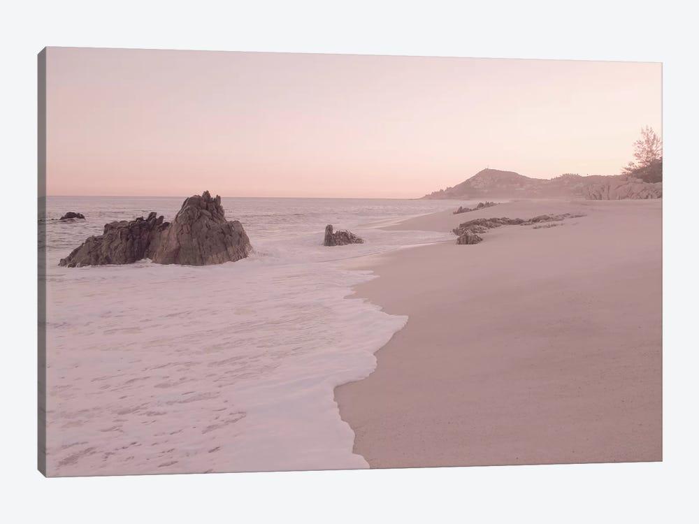 Rosegold Beach Morning by Monika Strigel 1-piece Canvas Print