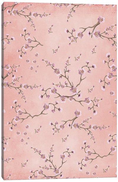 Sakura Love Blush VI Canvas Art Print