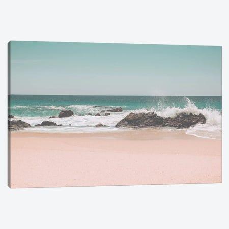 Sunny Beach Mexico 3-Piece Canvas #GEL285} by Monika Strigel Canvas Artwork