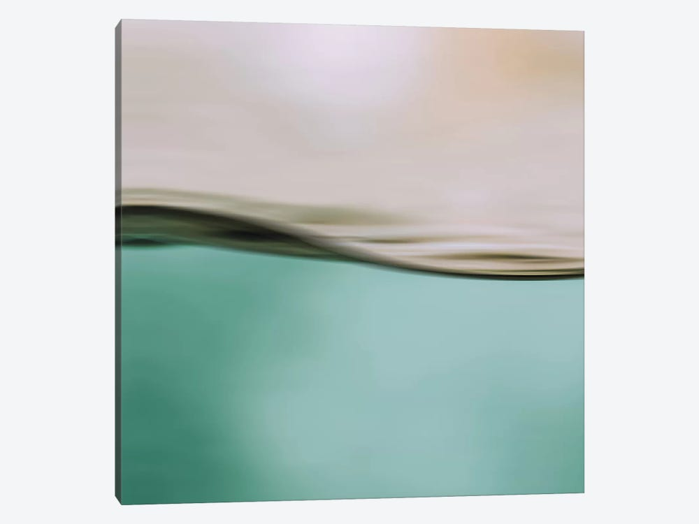 Water Motion I Square by Monika Strigel 1-piece Canvas Art