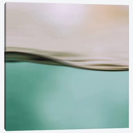 Water Motion I Square Canvas Print #GEL299} by Monika Strigel Canvas Wall Art