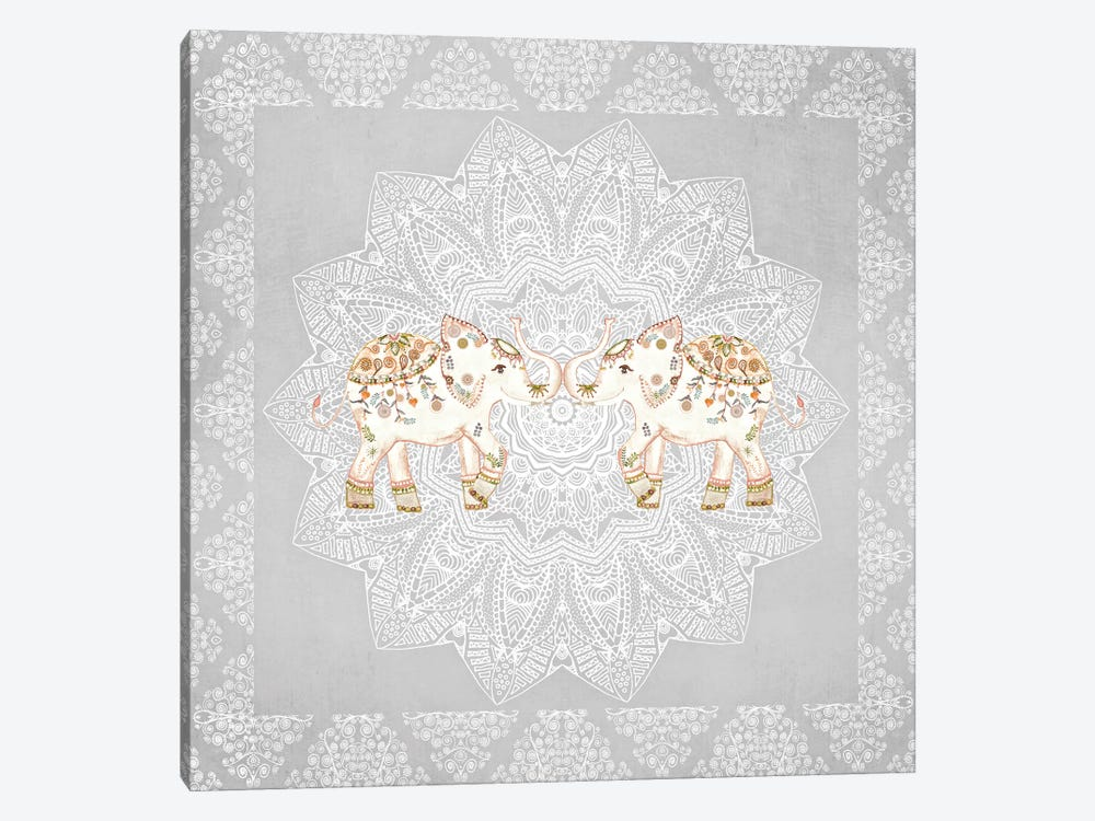 Alhambra Elephants by Monika Strigel 1-piece Art Print