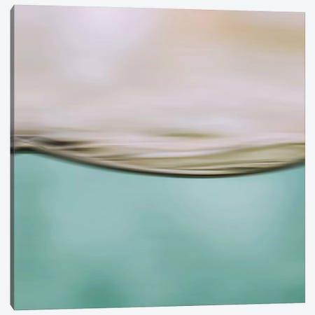 Water Motion II Square Canvas Print #GEL301} by Monika Strigel Canvas Wall Art