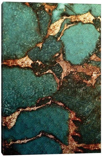 Gemstone And Gold - Emerald Canvas Art Print