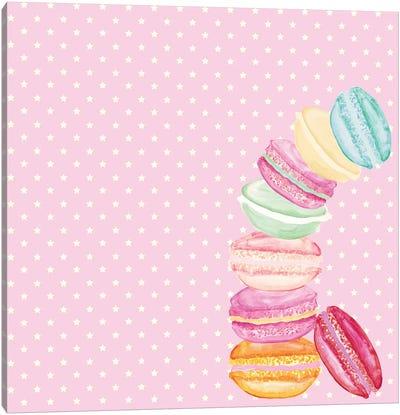 Macarons And Stars Canvas Art Print