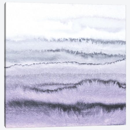 Within The Tides - Lilac Gray Canvas Print #GEL45} by Monika Strigel Canvas Artwork