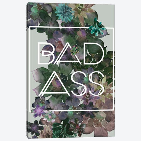 Bad Ass Light Canvas Print #GEL50} by Monika Strigel Canvas Wall Art