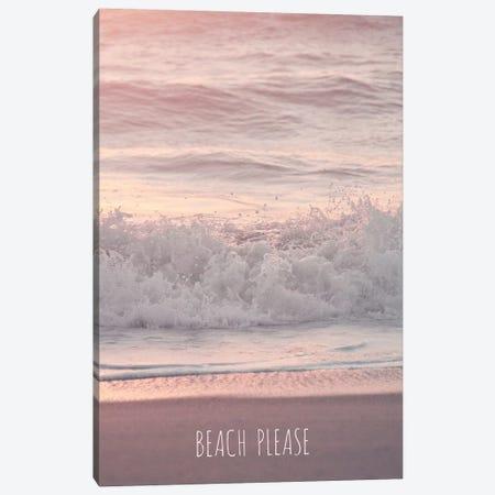 Beach Please Canvas Print #GEL52} by Monika Strigel Canvas Artwork