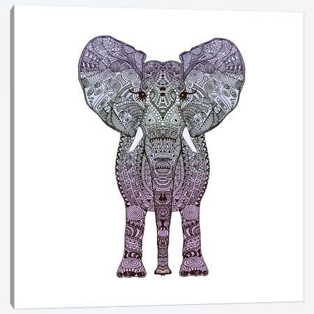 Purple Elephant Canvas Print #GEL56} by Monika Strigel Canvas Print