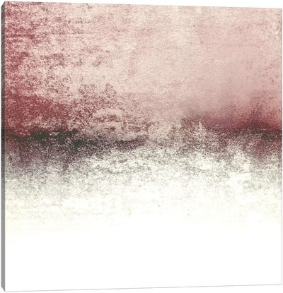 Snowdreamer - Blush Canvas Art Print